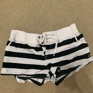 Swim cover up shorts